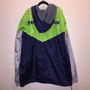 NFL Jackets & Coats - 🆕 NFL Seattle Seahawks Hooded Windbreaker Jacket